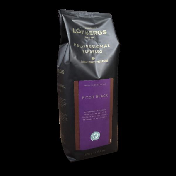 Pitch Black Kaffe fra Löfbergs