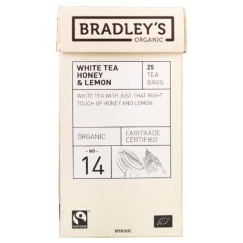 Bradleys White Tea Honey and Lemon
