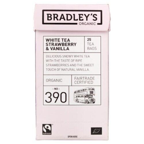 Bradleys White Strawberry and Vanilla Tea
