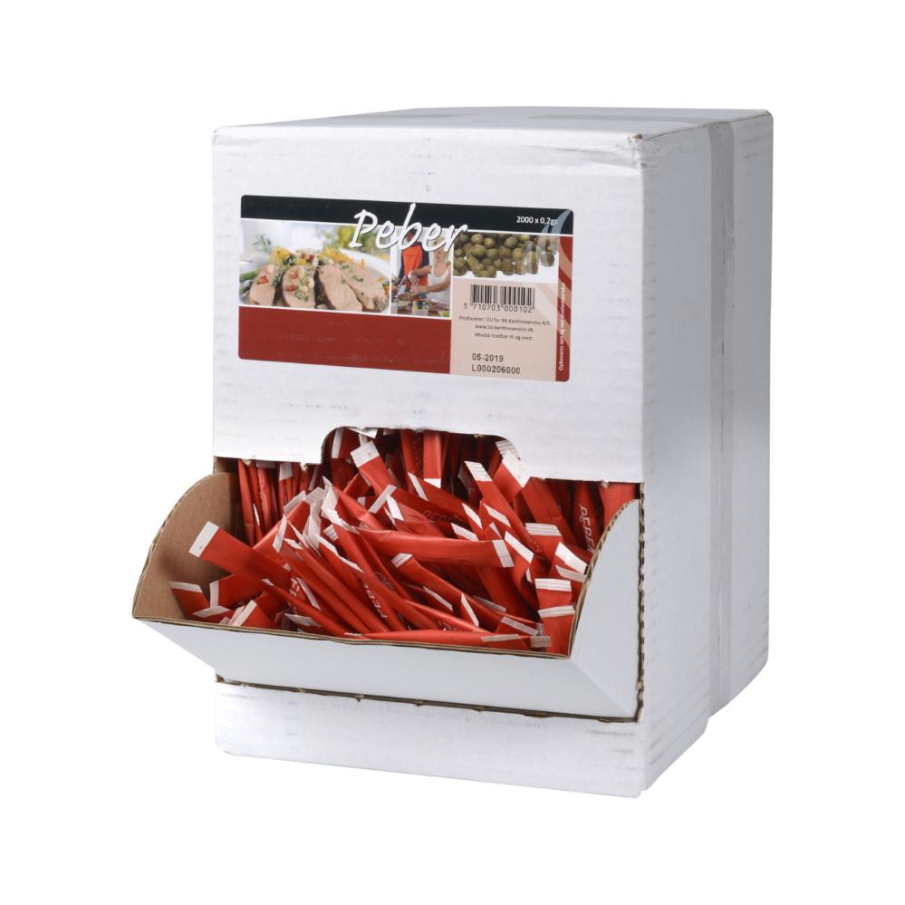 Peber sticks i Displaybox