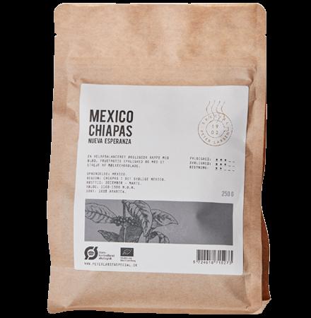 Mexico Chiapas Økologiske Kaffebønner fra Peter Larsen Special
