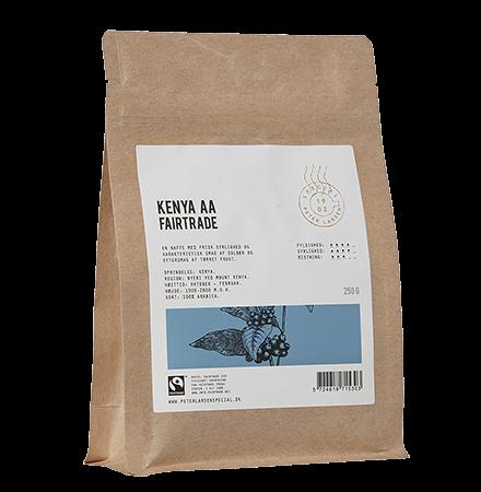 Kenya AA Fairtrade Kaffebønner 250 g