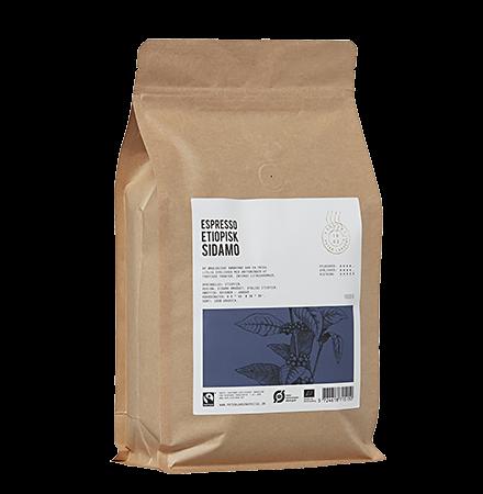 Etiopisk Sidamo Kaffe fra Peter Larsen