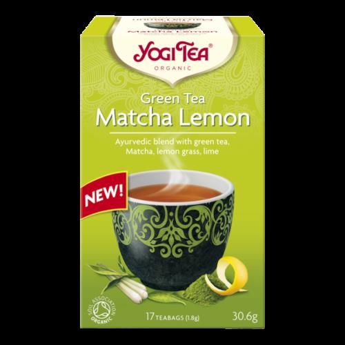 Matcha Lemon fra Yogi Tea
