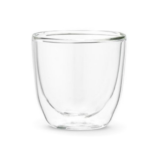 Double Wall Glass Cup 100 ml.